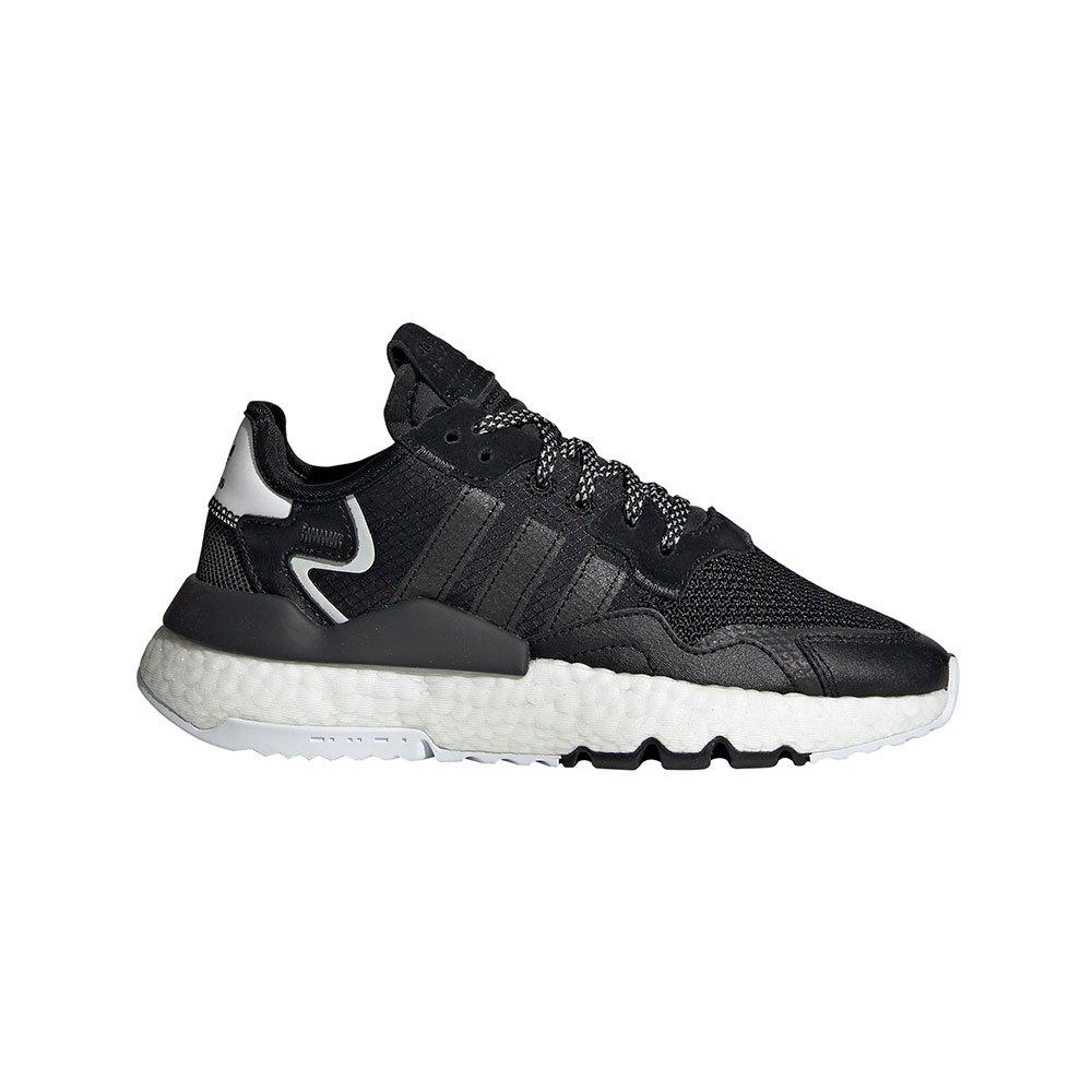 Adidas Originals Nite Juniorogger Junior EU 37 1/3 Core Black / Core Black / Carbon