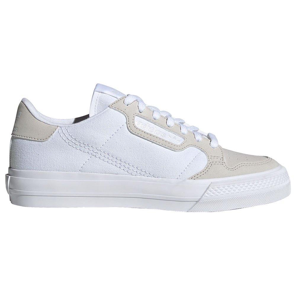 Adidas Originals Continental Vulc Junior EU 38 Footwear White / Footwear White / Grey One