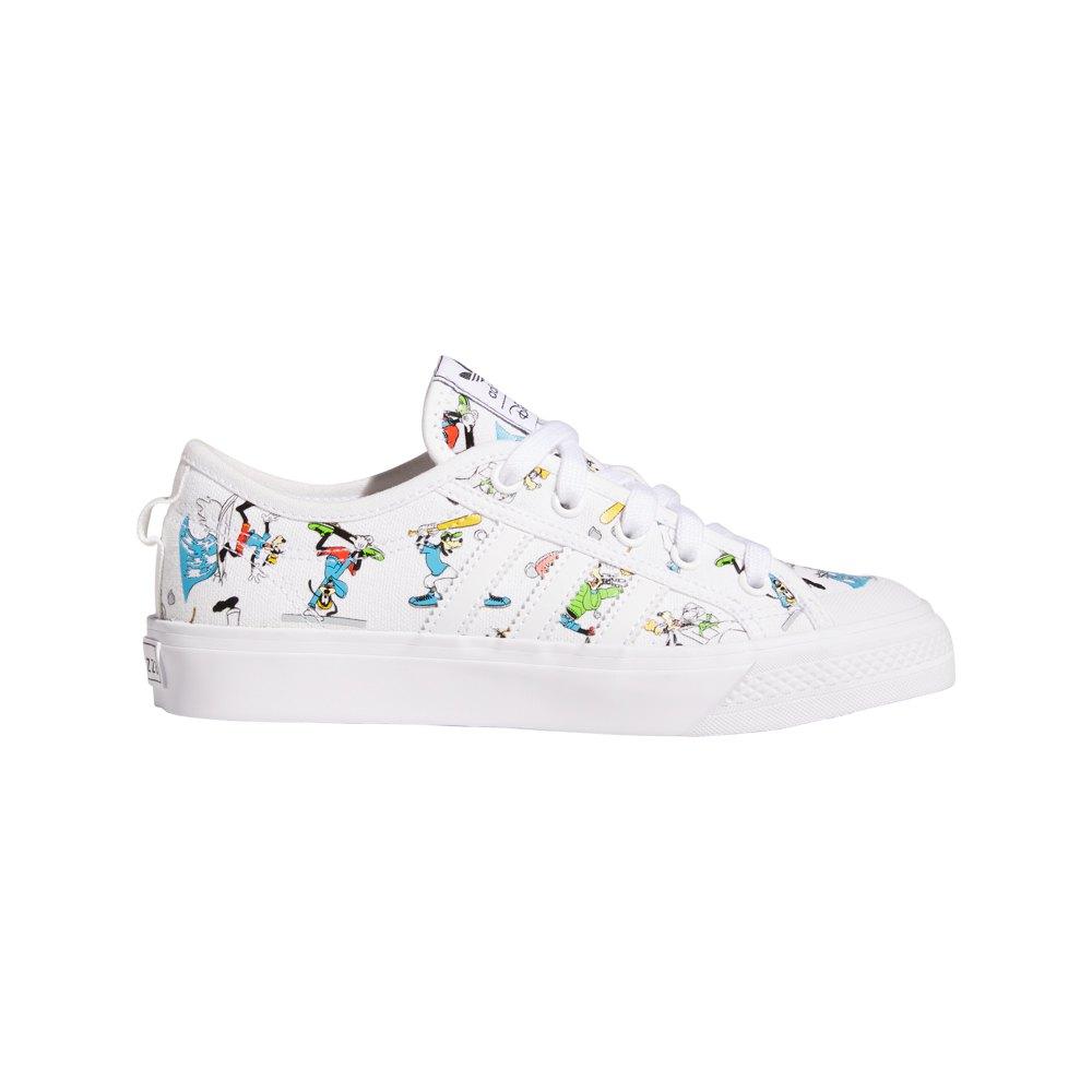 Adidas Originals Nizza Junior X Disney Sport Goofy EU 38 2/3 Footwear White / Scarlet / Core Black