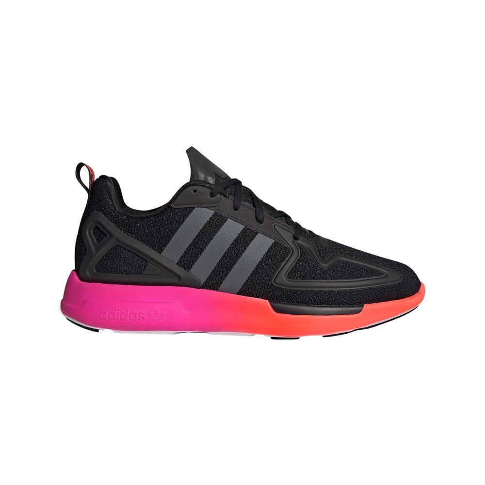 Adidas Originals Zx 2k Flux EU 46 Core Black / Grey Six / Shock Pink