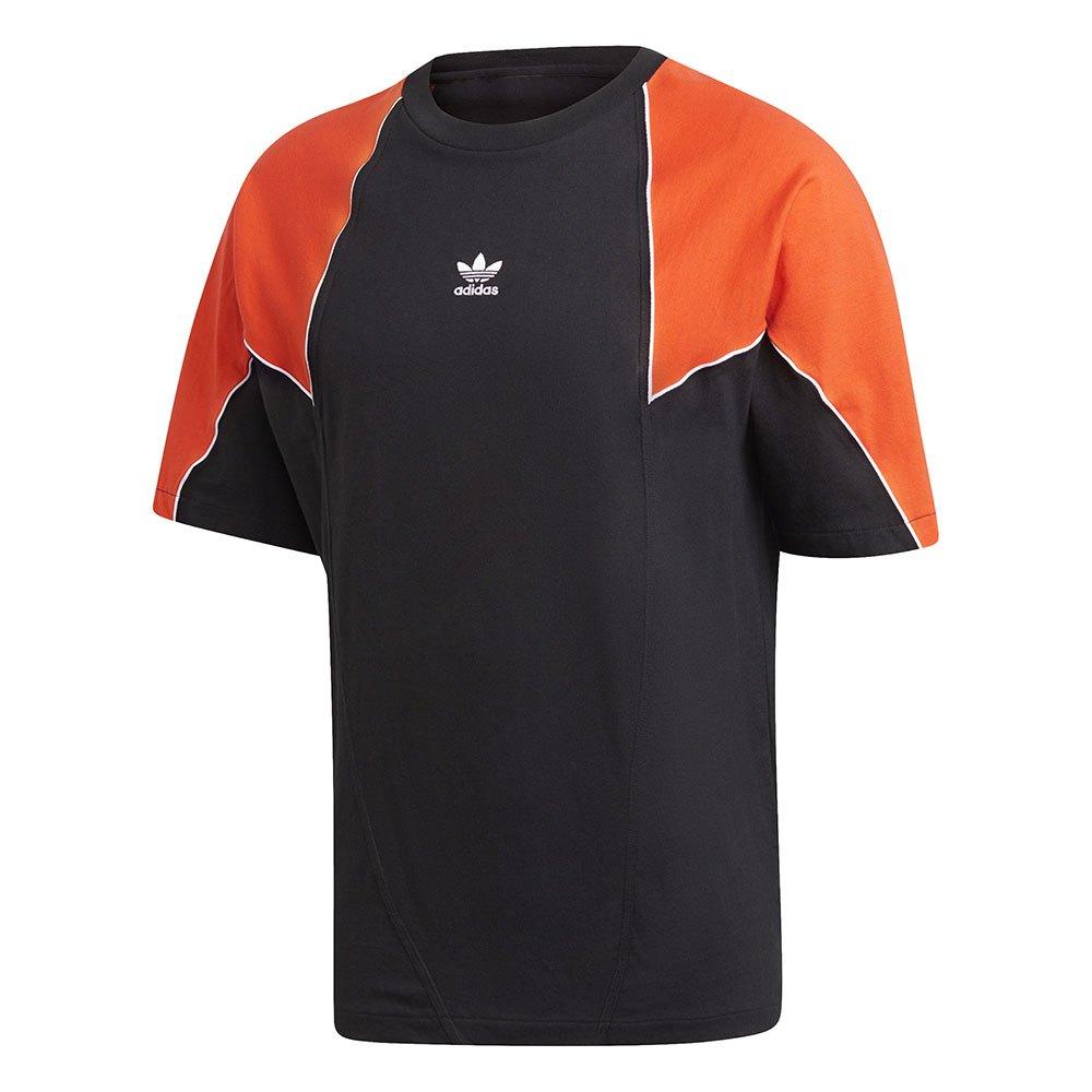 Adidas Originals Big Trefoil Block XXL Black / Energy Orange / White