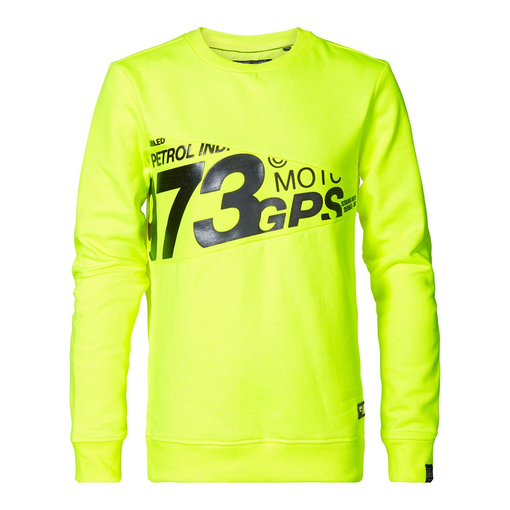 Petrol Industries 3000 Sweat Ribbed Neck 356 104 cm Safety Yellow