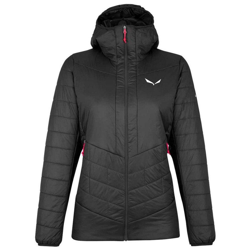 Salewa Catinaccio Tirolwool Jacket DE 42 Black Out