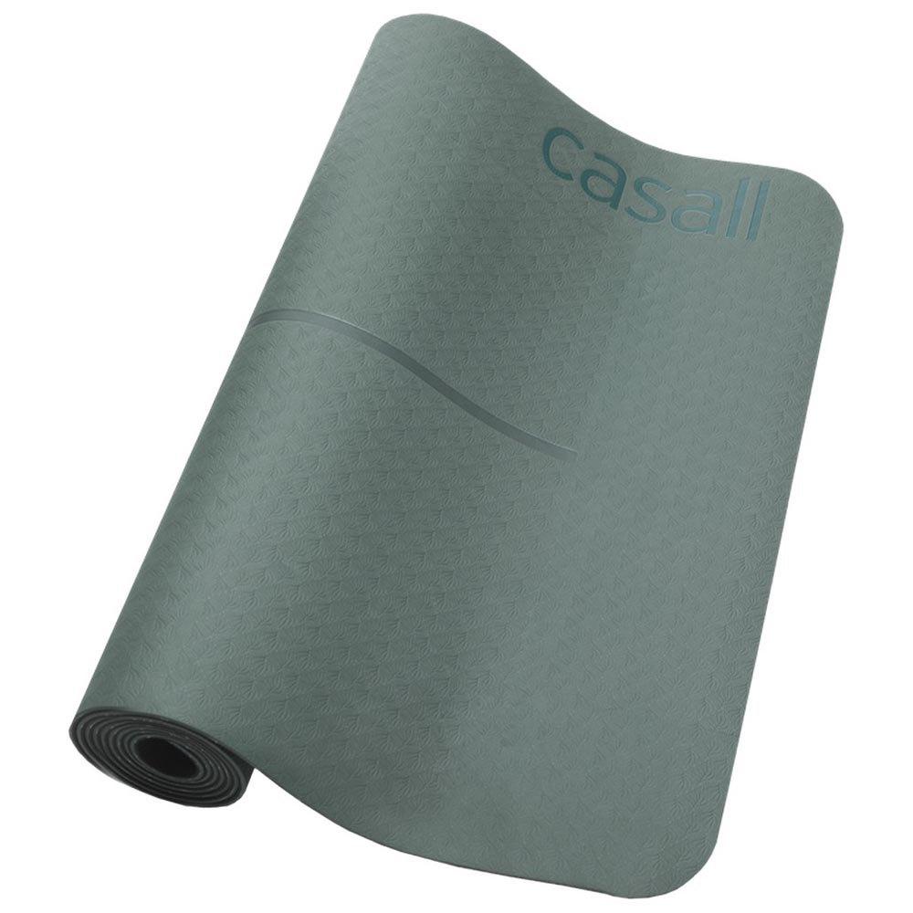 Casall Position Yoga 4 Mm 183x61x0.4 cm Khaki Green / Black