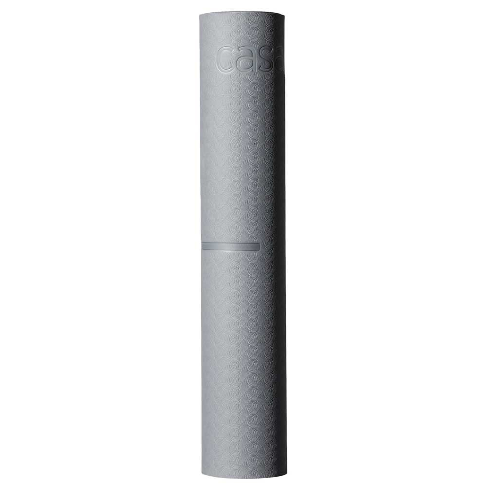 Casall Yoga Mat Position 4mm 183x61x0.4 cm Strech Blue / Dark Blue