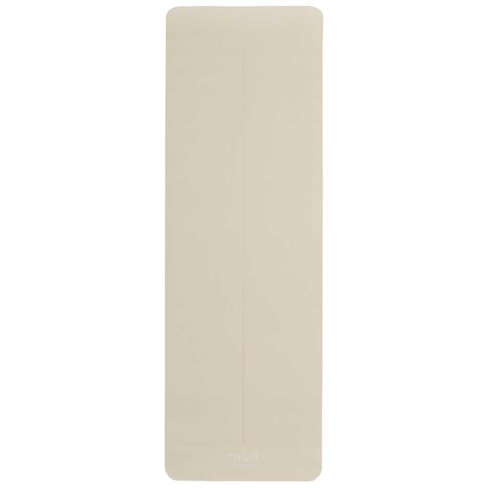 Casall Prf Yoga Cushion 4 Mm One Size Beige / Black