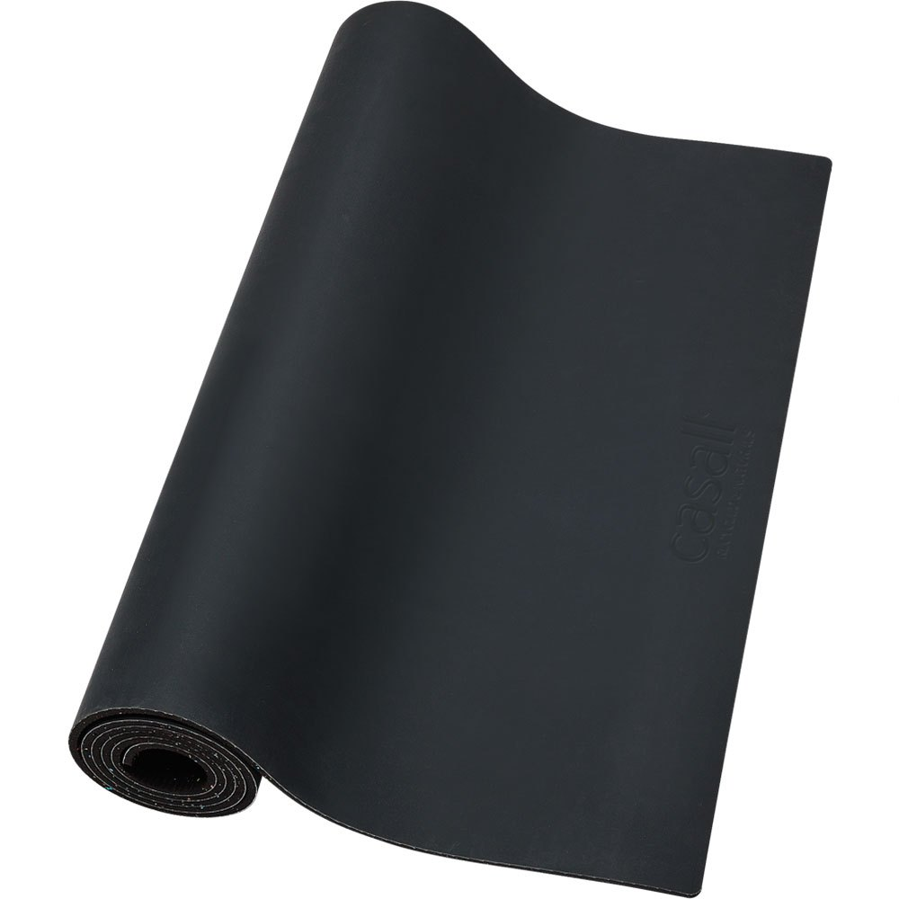 Casall Prf Yoga Mat Recycled&natural 5mm One Size Black
