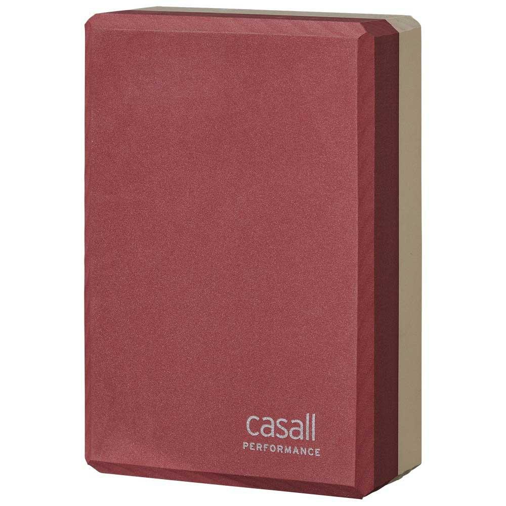 Casall Prf Yoga Block One Size Pink / Beige