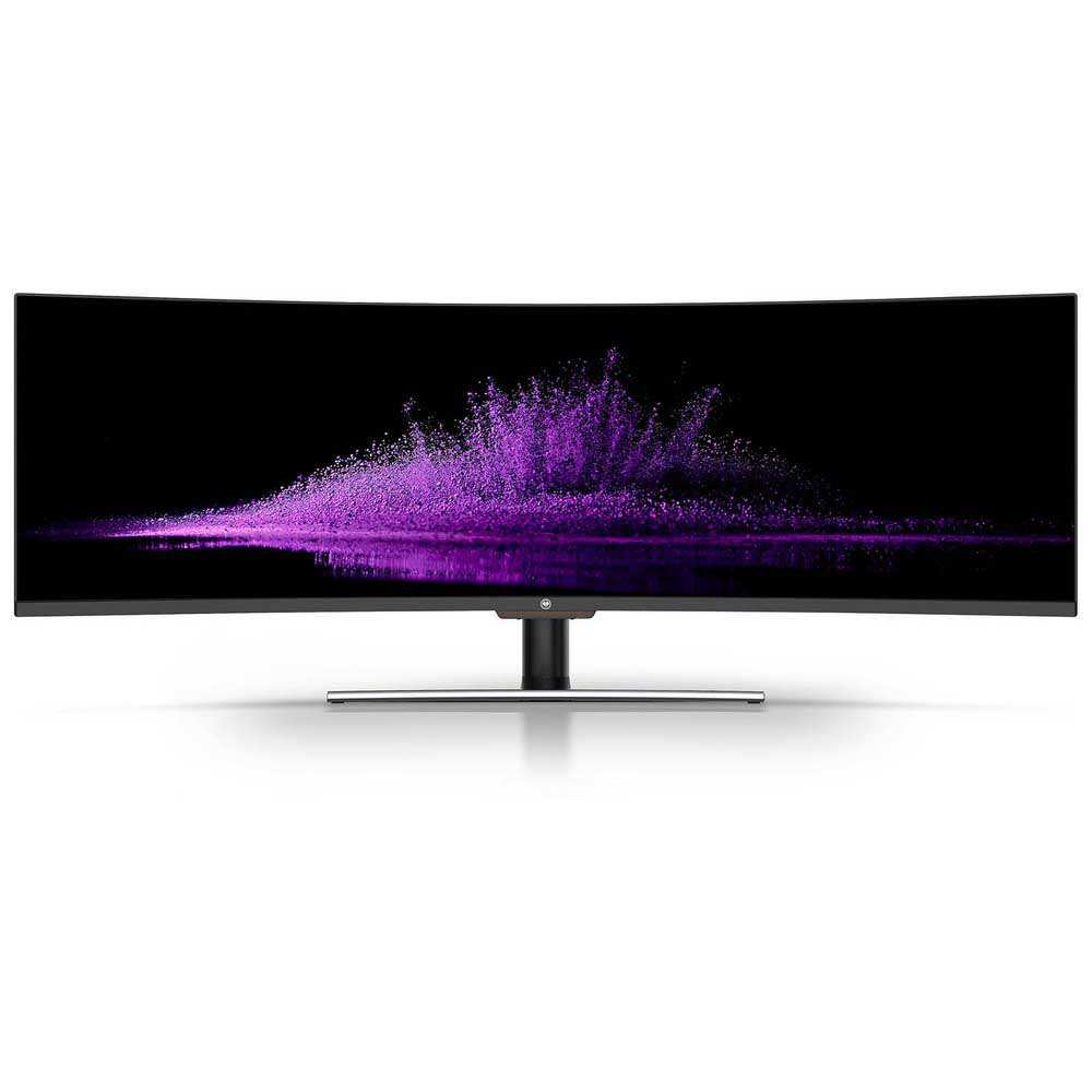 Monitor Millenium Md 49'' Qled Hdr Super Ultra Wide 144hz Curved One Size Black