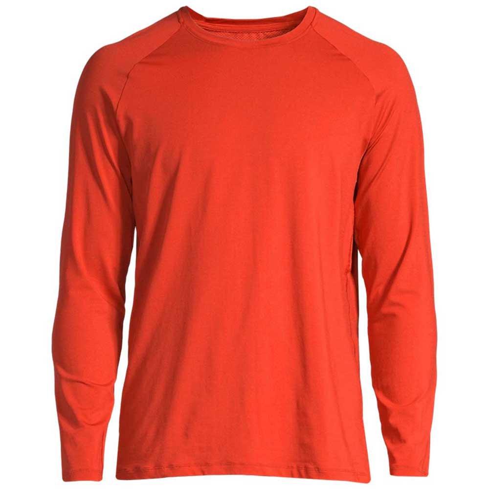 Casall Structured T-shirt Manche Longue S Intense Orange