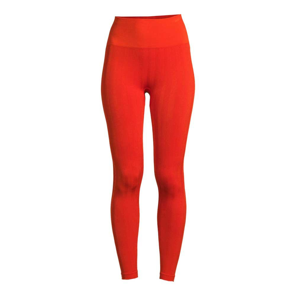 Casall Shiny Matte Seamless L Intense Orange