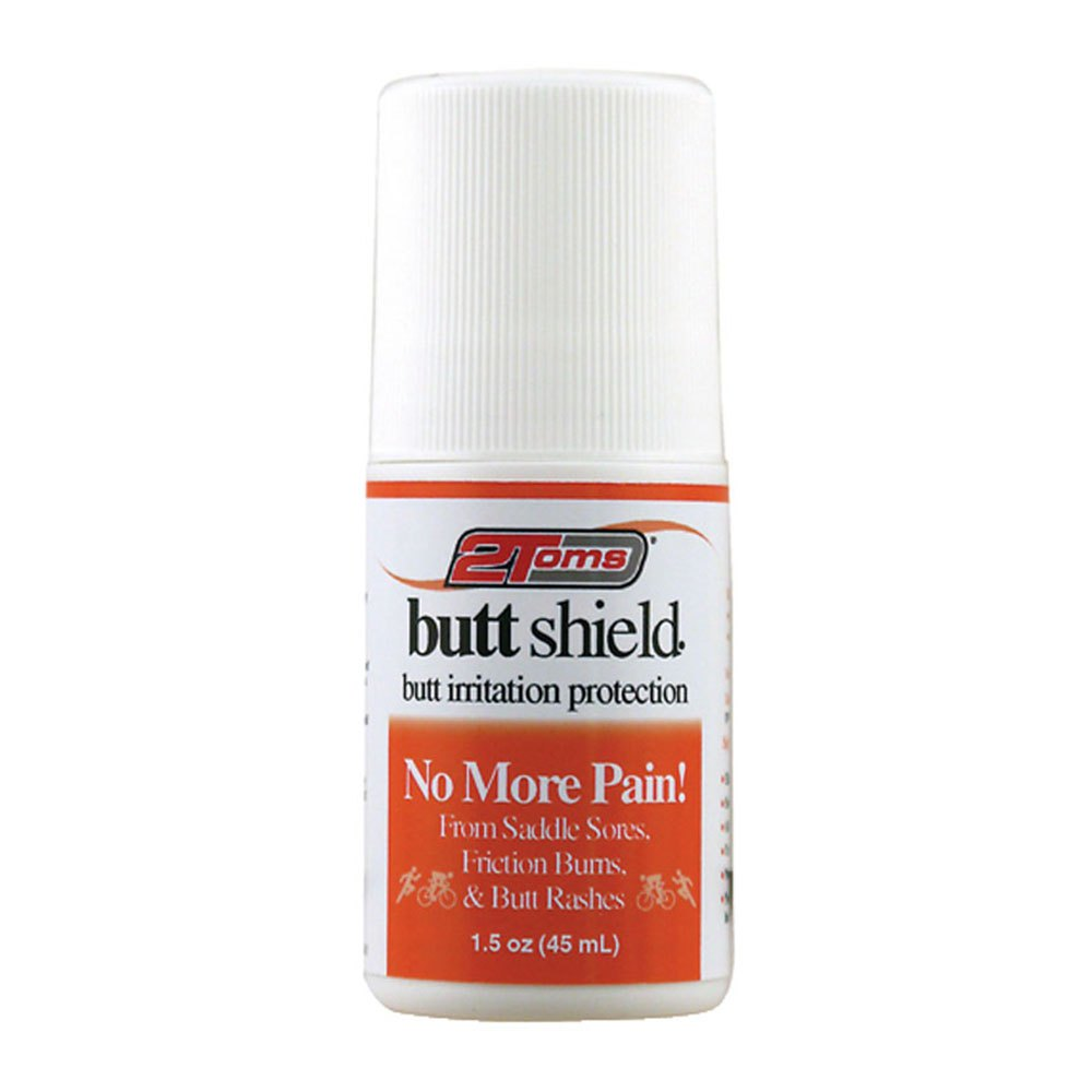 2toms Butt Shield 45ml One Size White / Orange