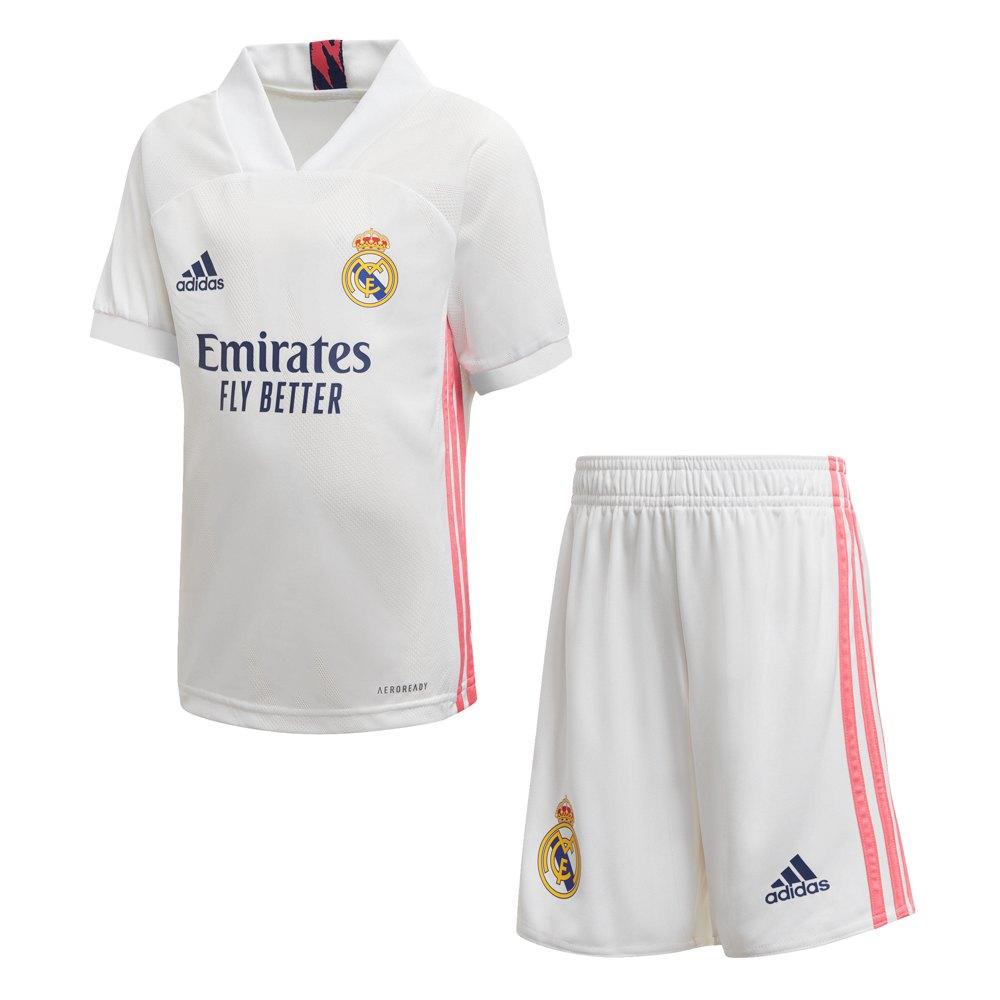 Adidas Real Madrid Home Mini Kit 20/21 104 cm White