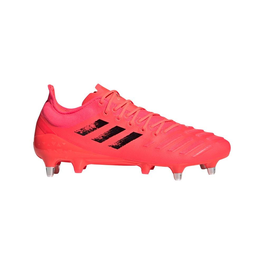 Adidas Predator Xp Sg Rugby Boots EU 40 2/3 Signal Pink / Core Black