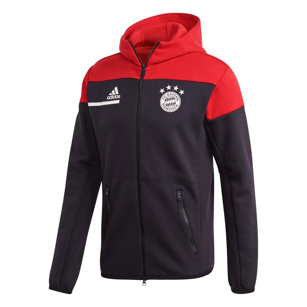 Adidas Fc Bayern Munich Zne 20/21 M Black / Fcb True Red 1
