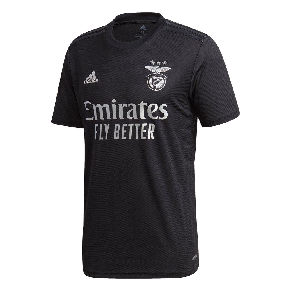 Adidas Sl Benfica Away 2020 M Black / Silver Metalic