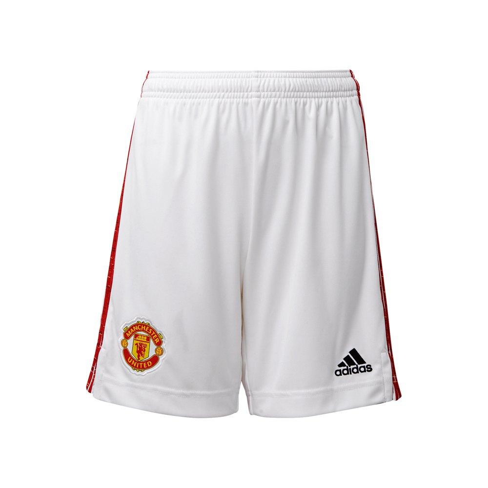 Adidas Manchester United Fc Home 20/21 Junior 176 cm White