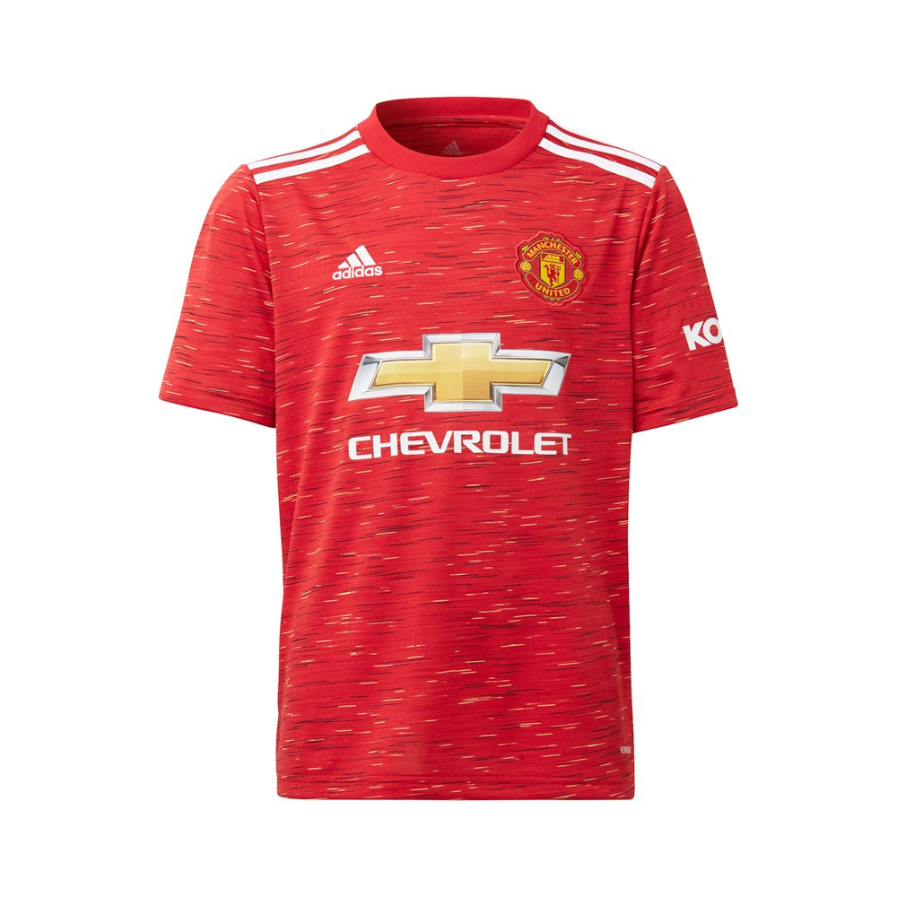 Adidas Manchester United Fc Home 20/21 Junior 152 cm Real Red