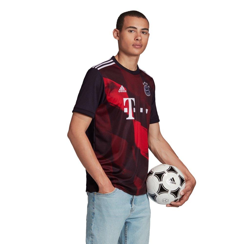Adidas Fc Bayern Munich Third 20/21 M Black