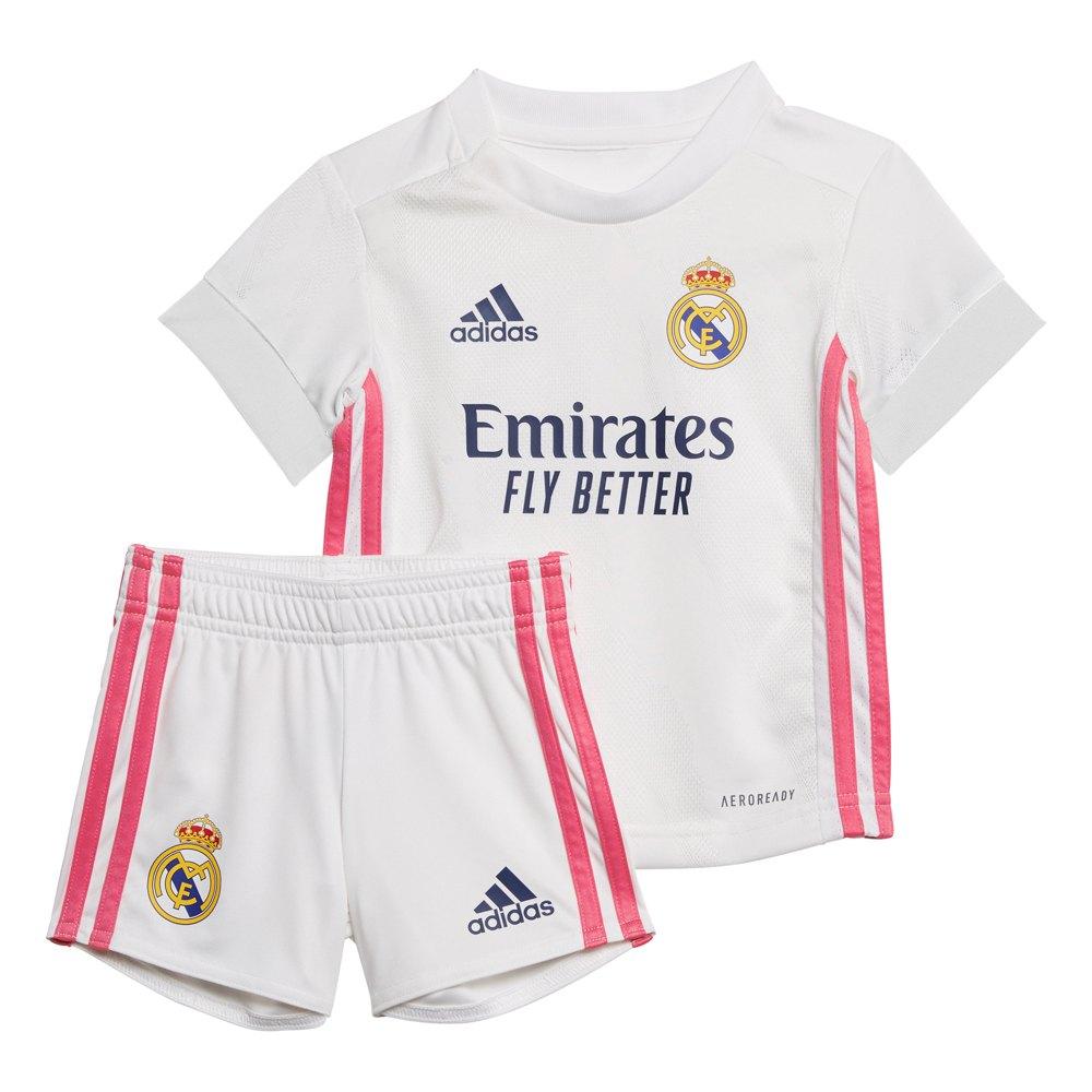 Adidas Real Madrid Home Mini Kit 20/21 80 cm White / White