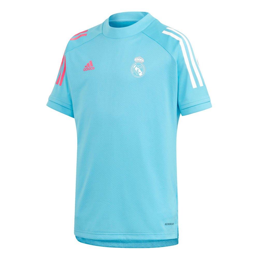 Adidas Real Madrid Training 20/21 Junior 140 cm Bright Cyan