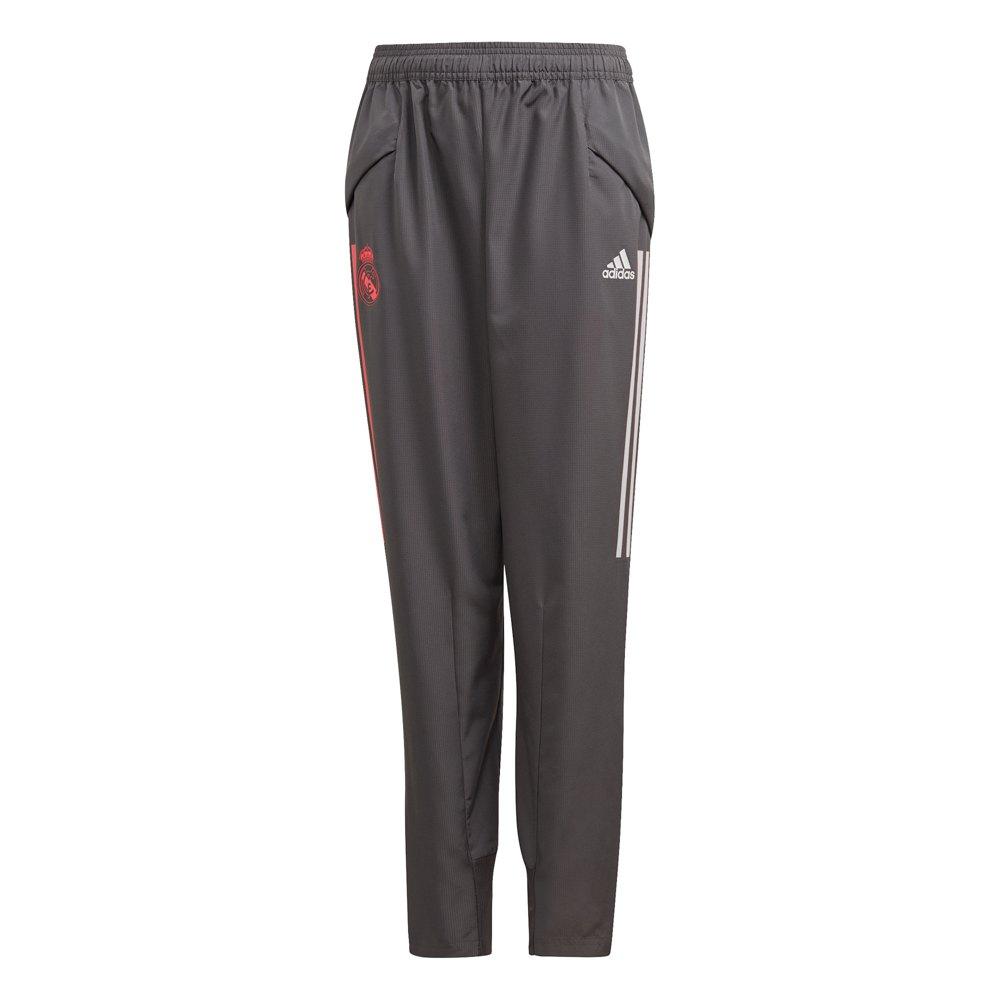 Adidas Pantalons Real Madrid Présentation 20/21 Junior 128 cm Grey Five