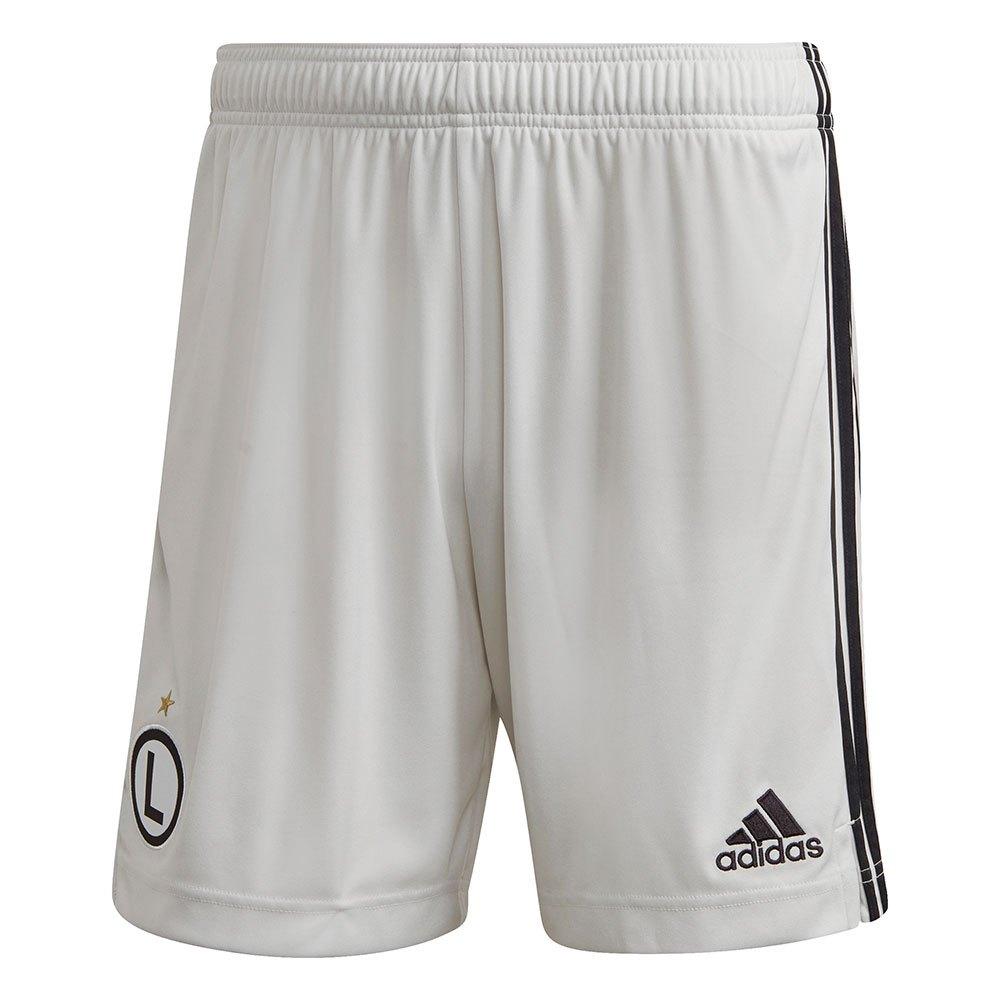 Adidas Le Short Legia Warsaw Extérieur 20/21 L Orbit Grey