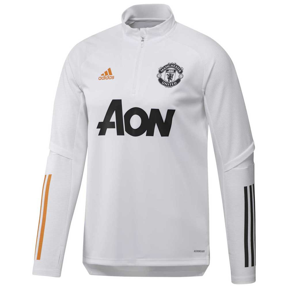 Adidas Manchester United Fc Training 20/21 L White