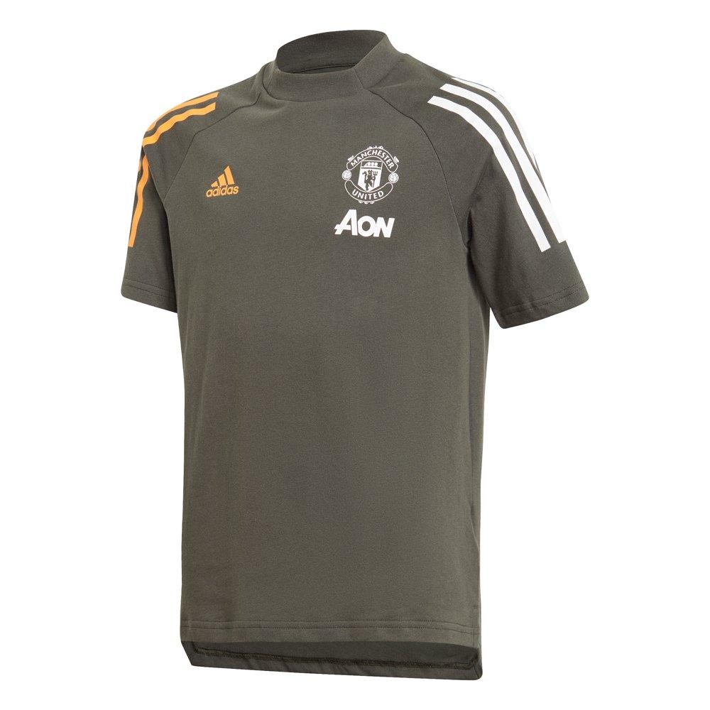 Adidas Manchester United Fc 20/21 Junior 128 cm Legend Earth