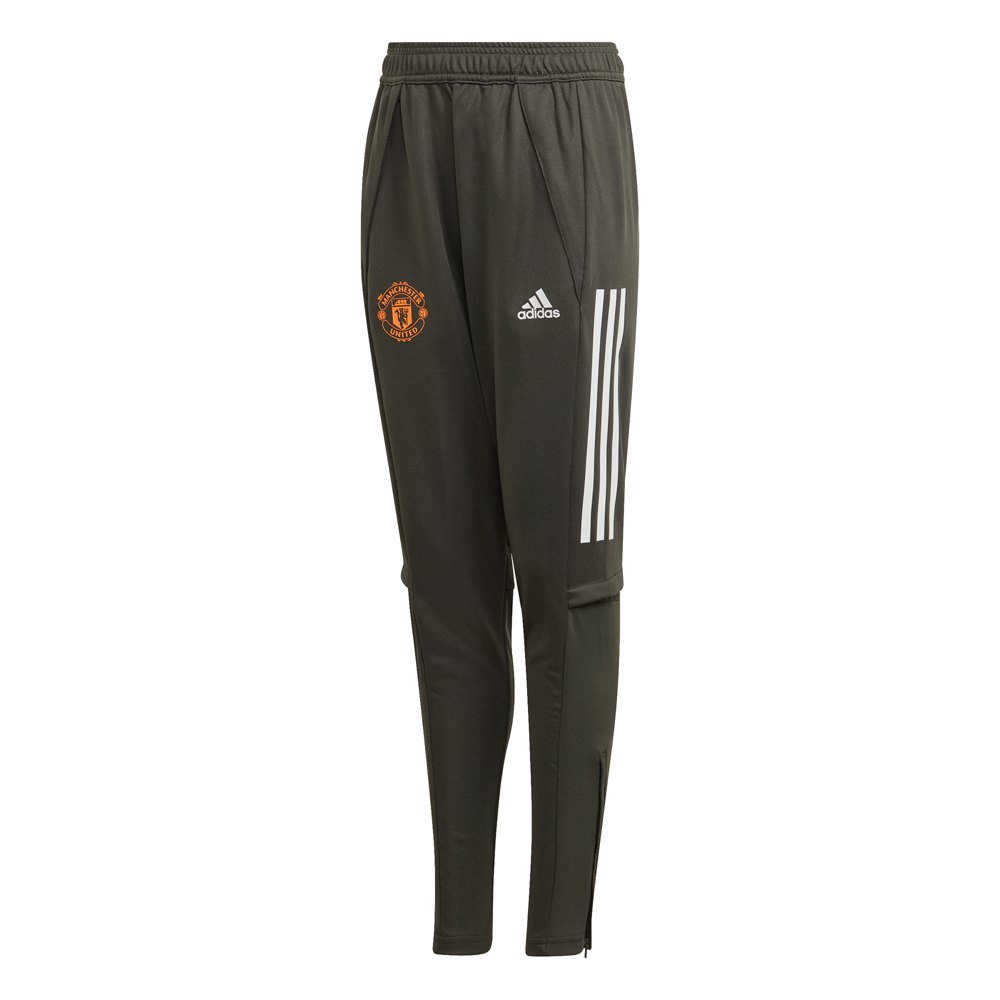 Adidas Pantalons Manchester United Fc Entraînement 20/21 Junior 140 cm Legend Earth