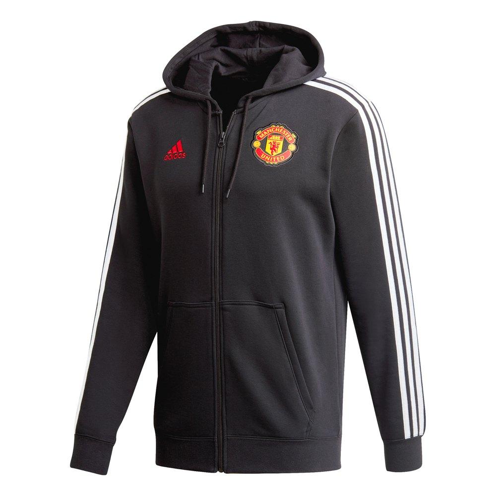 Adidas Manchester United Fc 3 Stripes 20/21 L Black