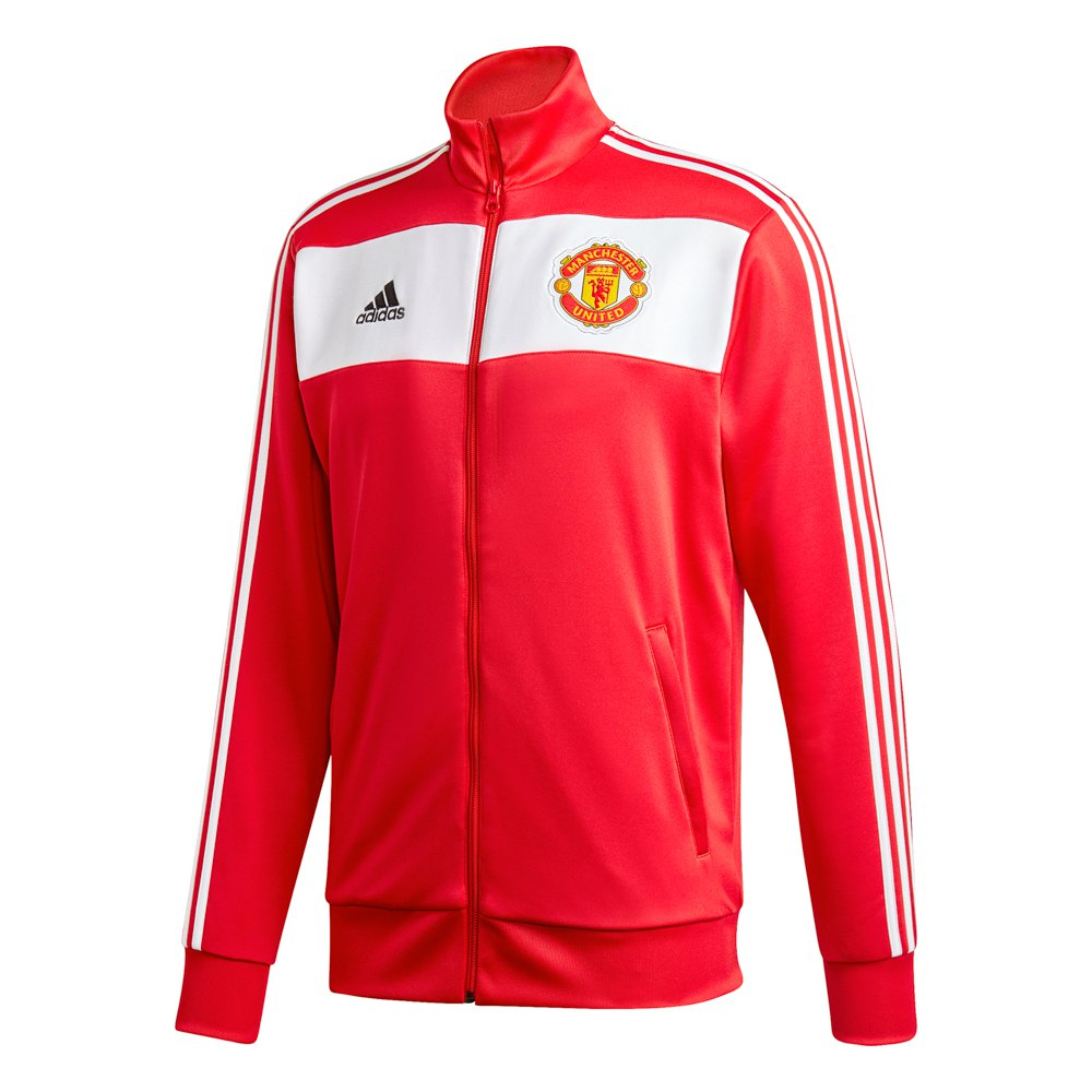 Adidas Manchester United Fc 3 Stripes Track 20/21 L Real Red