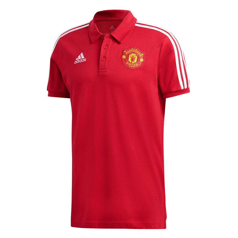 Adidas Manchester United Fc 3 Stripes 20/21 XL Real Red