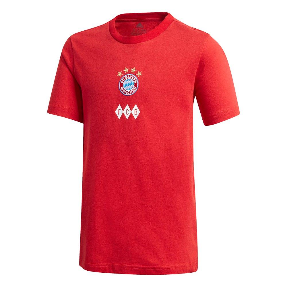 Adidas T-shirt Fc Bayern Munich Graphic 20/21 Junior 176 cm True Red / White