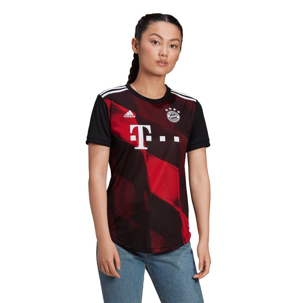 Adidas T-shirt Fc Bayern Munich Troisième 20/21 S Black