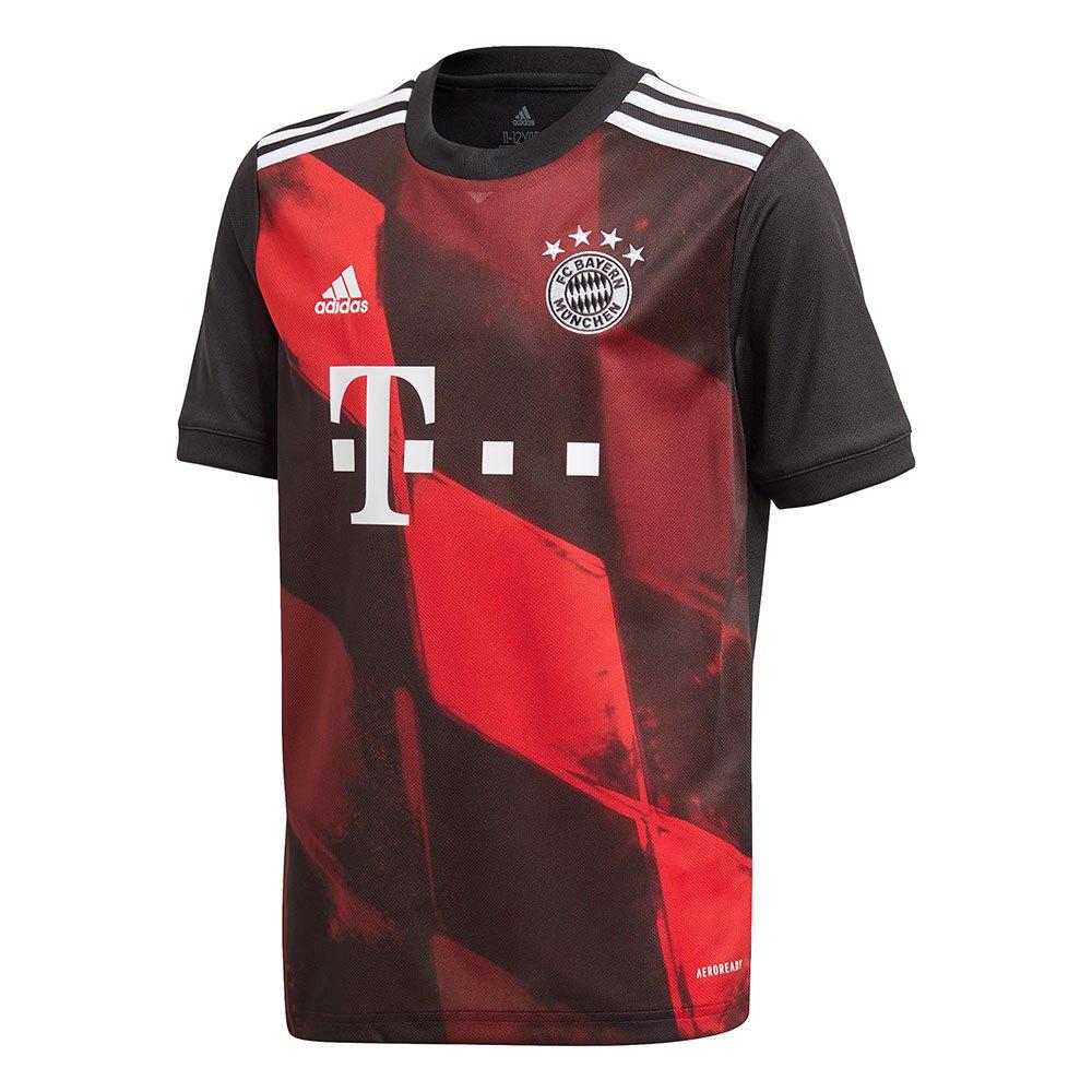 Adidas Fc Bayern Munich Troisième 20/21 Junior 152 cm Black