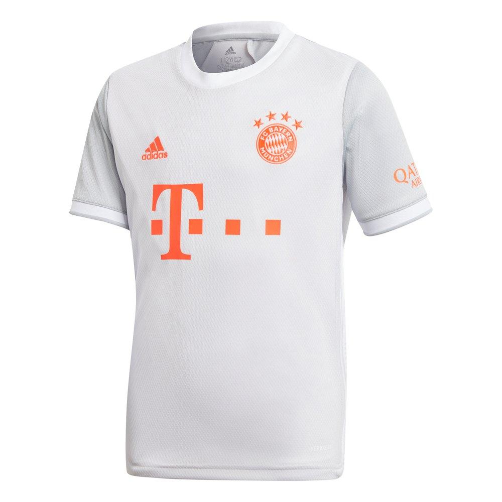 Adidas T-shirt Fc Bayern Munich Extérieur 20/21 Junior 176 cm Dash Grey