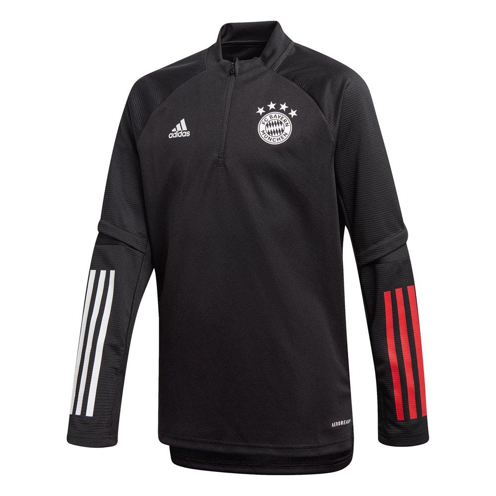 Adidas Fc Bayern Munich Training Top 20/21 Junior 128 cm Black / True Red