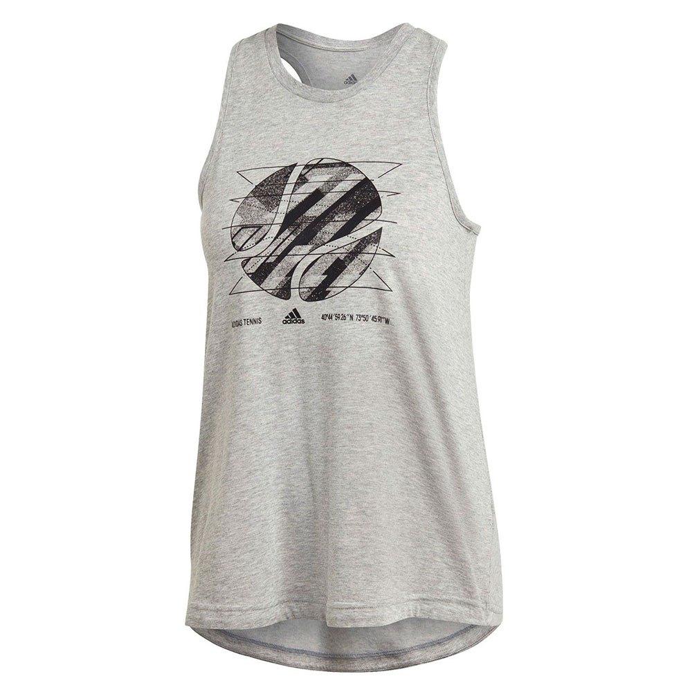 Adidas Us Open S Medium Grey Heather