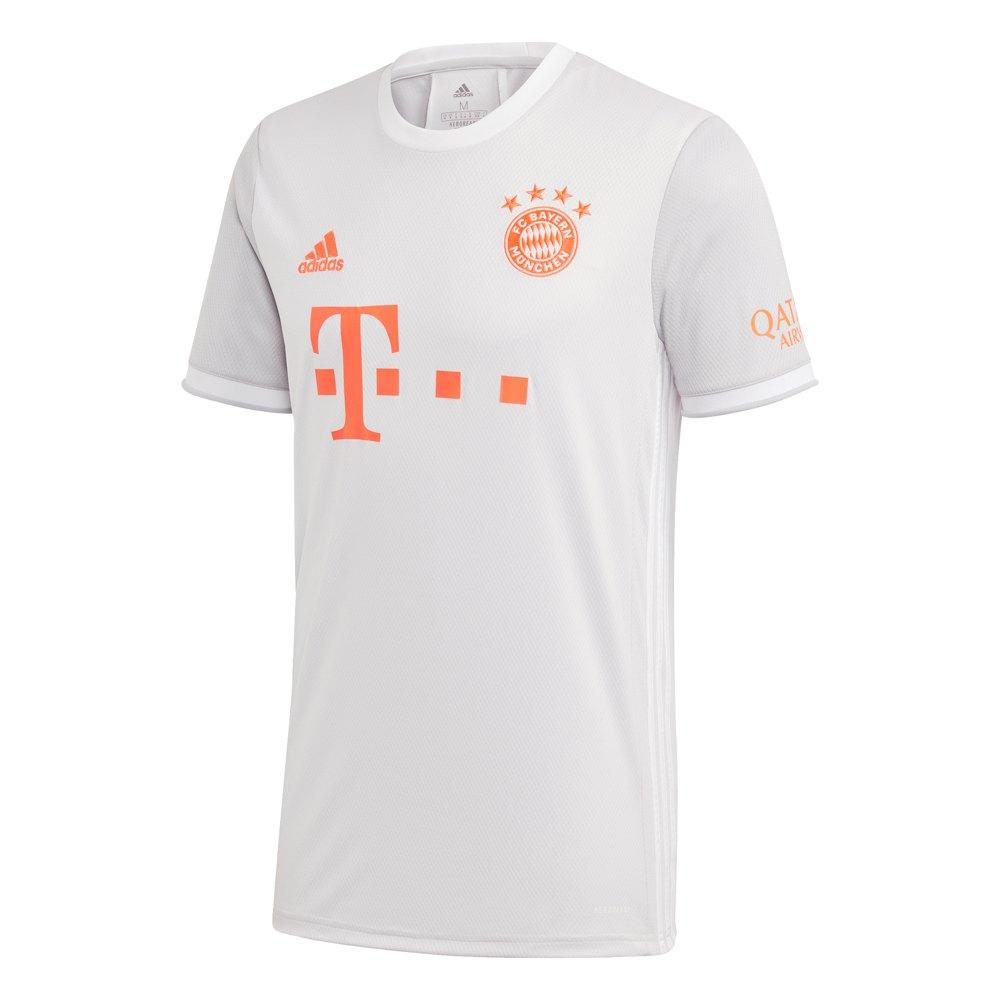 Adidas T-shirt Fc Bayern Munich Extérieur 20/21 XS Dash Grey / White