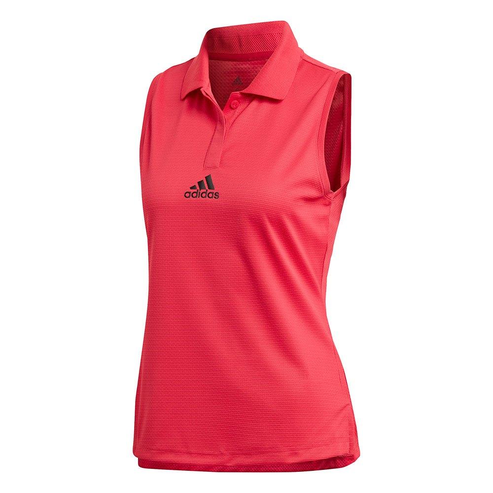 Adidas T-shirt Sans Manches Match Heat.rdy S Power Pink