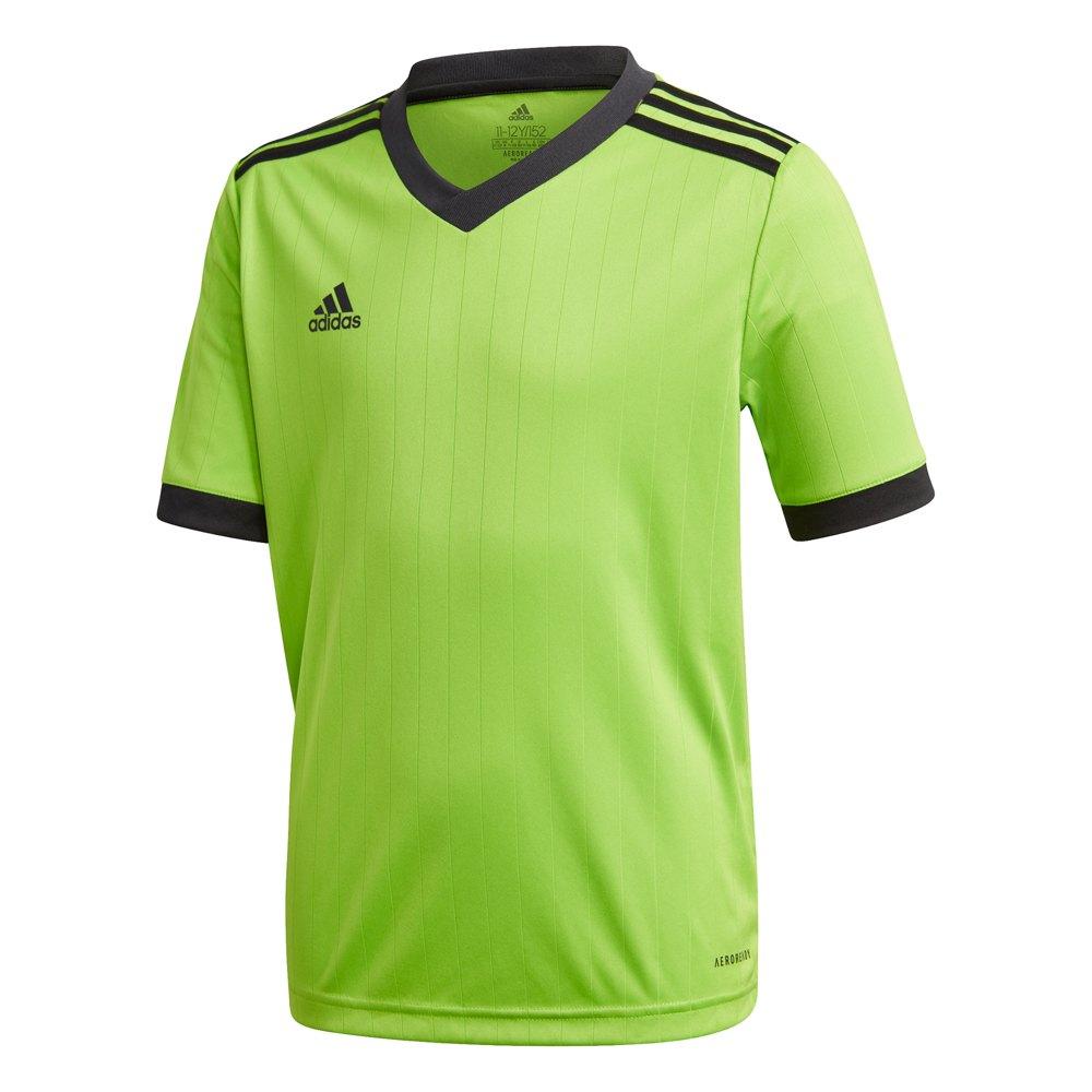 Adidas T-shirt Manche Courte Tabela 18 116 cm Semi Solar Green / Black