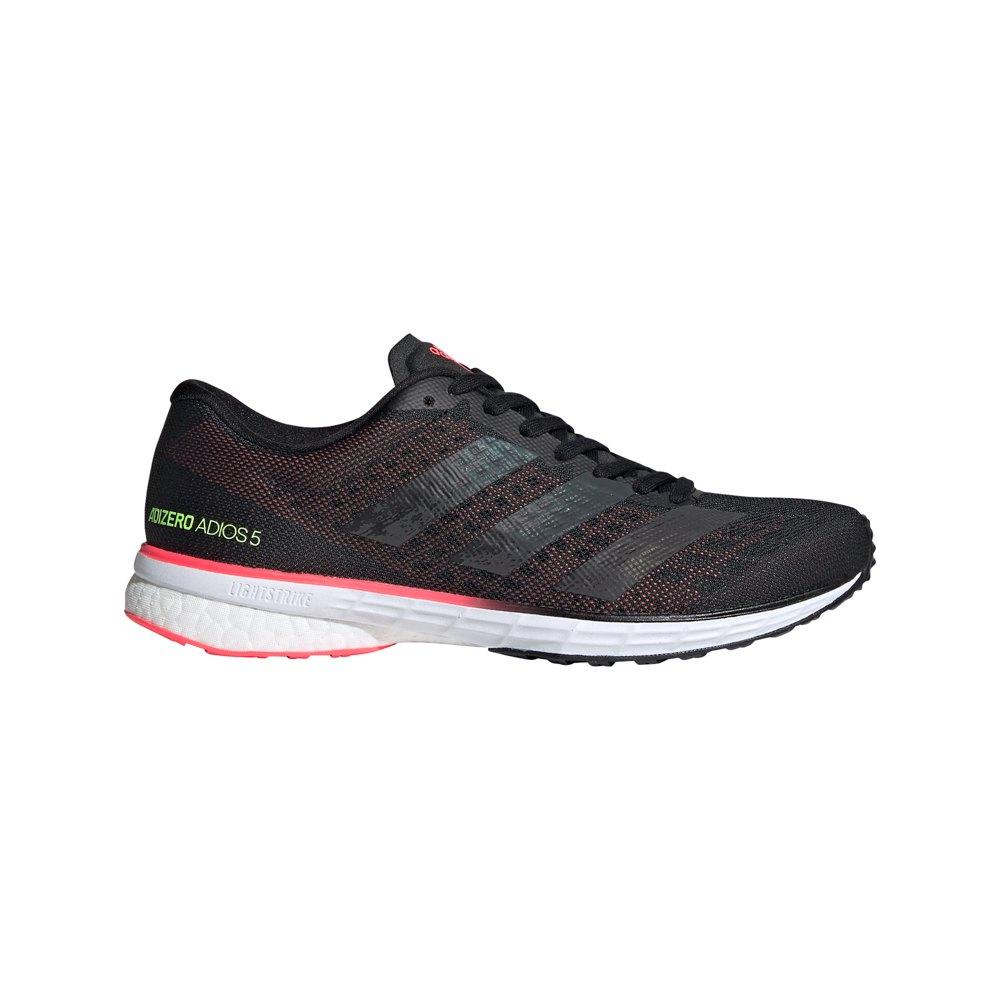Adidas Adizero Adios 5 EU 38 2/3 Core Black / Core Black / Signal Pink