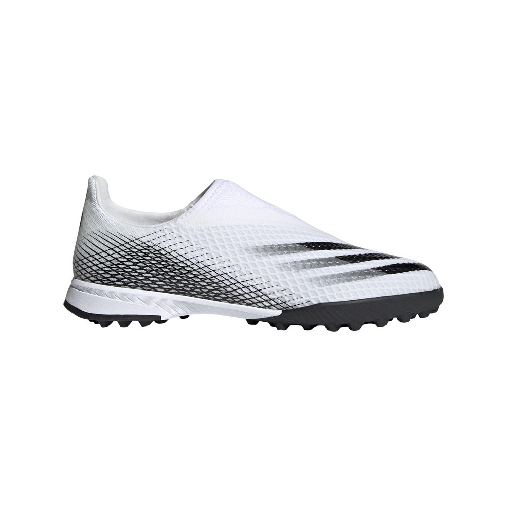 Adidas X Ghosted.3 Laceless Tf Football Boots EU 33 Ftwr White / Core Black / Ftwr White