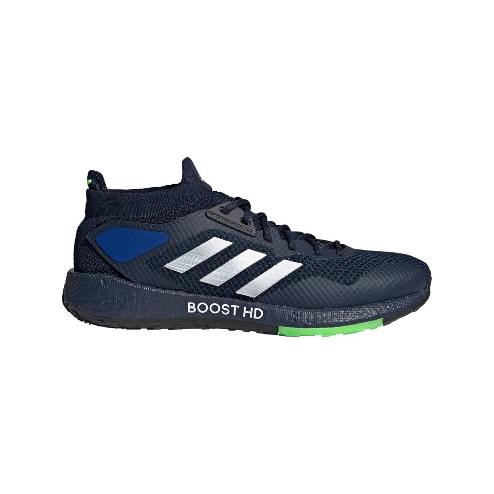 Adidas Pulseboost Hd EU 46 2/3 Collegiate Navy / Night Metalic / Signal Green