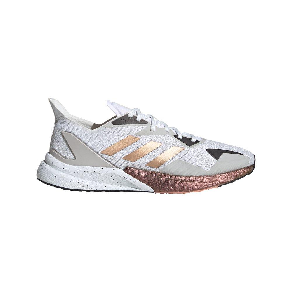 Adidas X9000l3 EU 47 1/3 Crystal White / Copper Metalic / Core Black