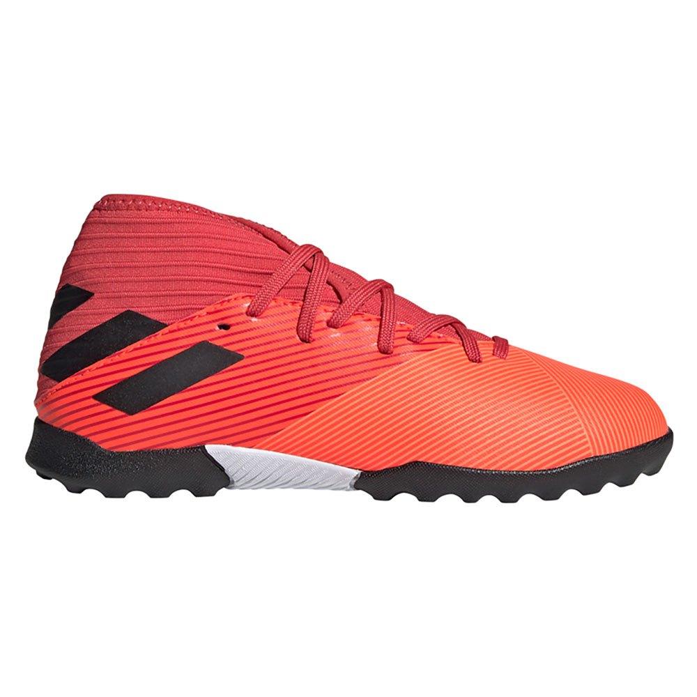 Adidas Nemeziz 19.3 Tf Football Boots EU 36 2/3 Signal Coral / Core Black / Glory Red