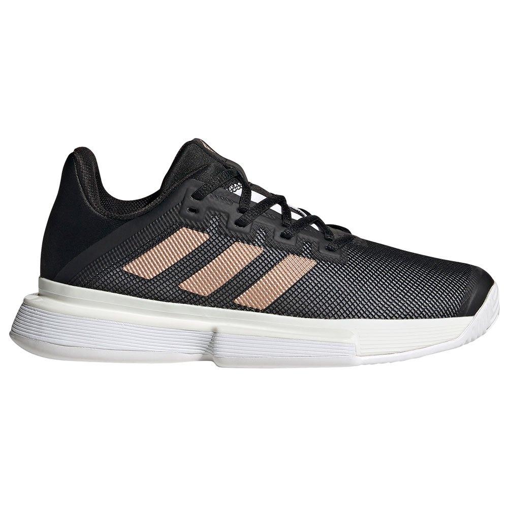 Adidas Solematch Bounce EU 38 2/3 Core Black / Copper Metalic / Ftwr White
