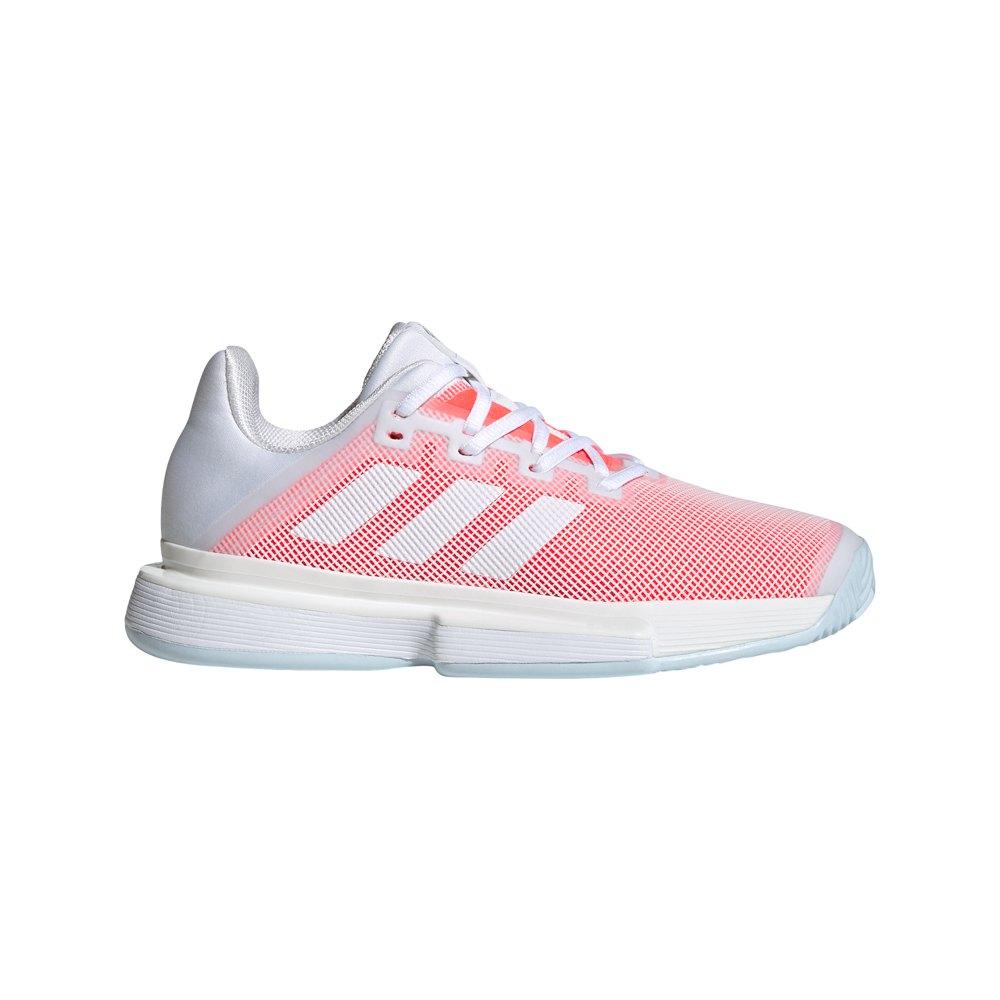 Adidas Solematch Bounce EU 39 1/3 Ftwr White / Ftwr White / Signal Pink