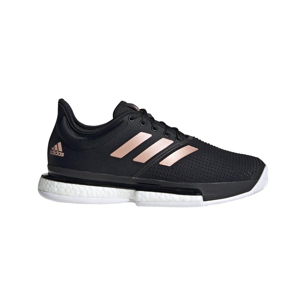 Adidas Solecourt EU 38 2/3 Core Black / Ftwr White / Copper Metalic